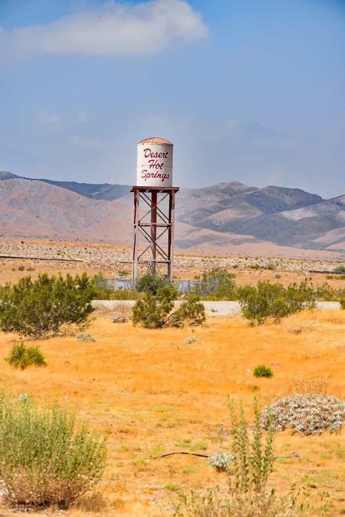 Desert Water Tower I