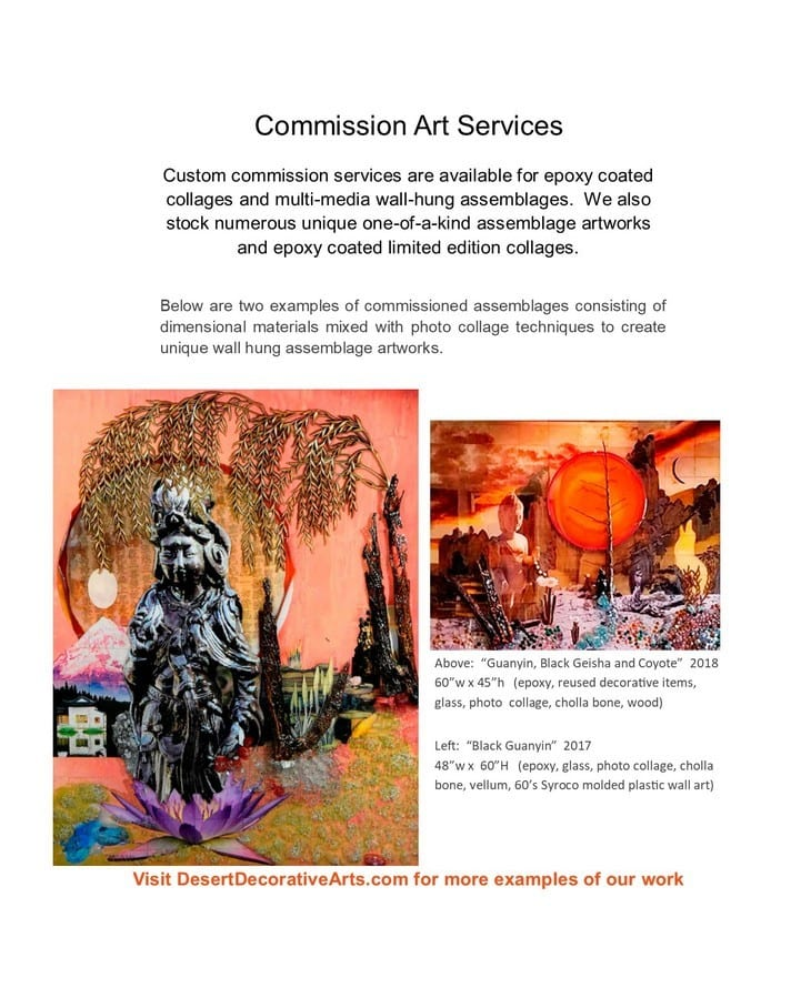 Custom Art Services Lead Page