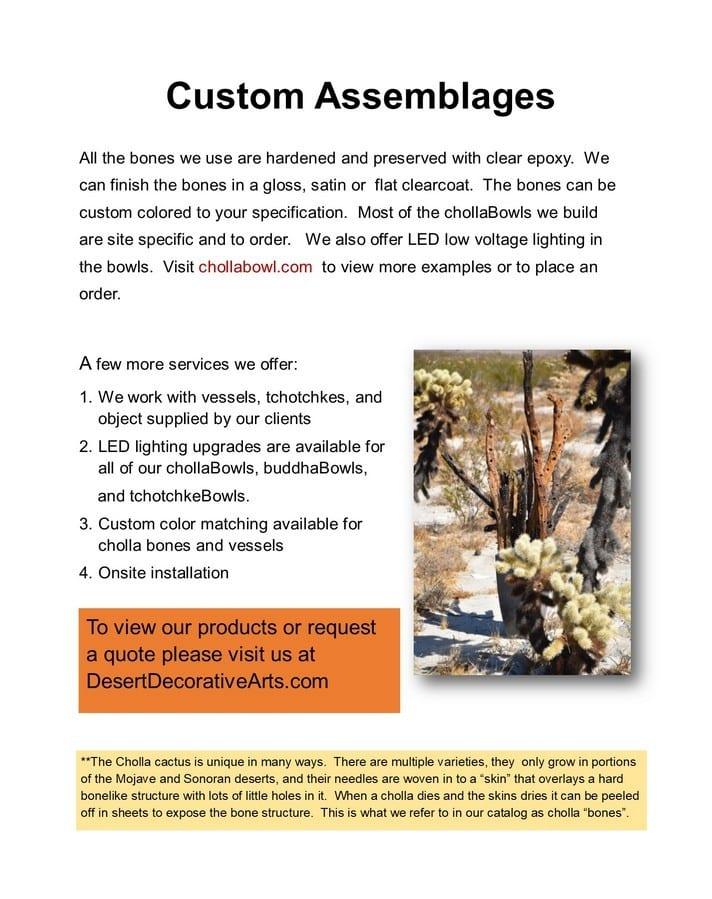 custom assemblage info