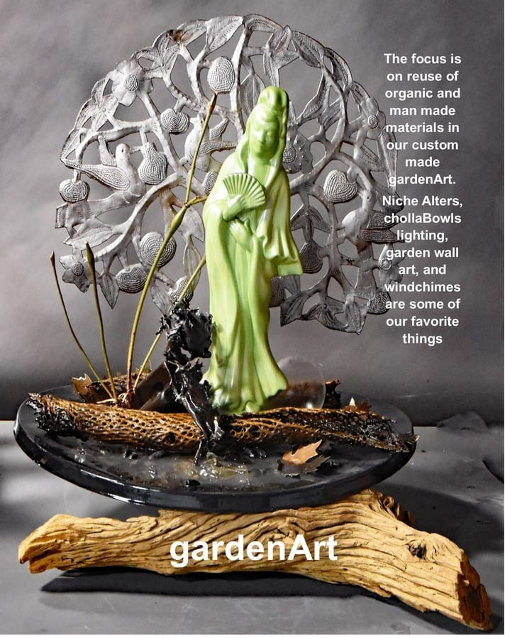 garden art front page